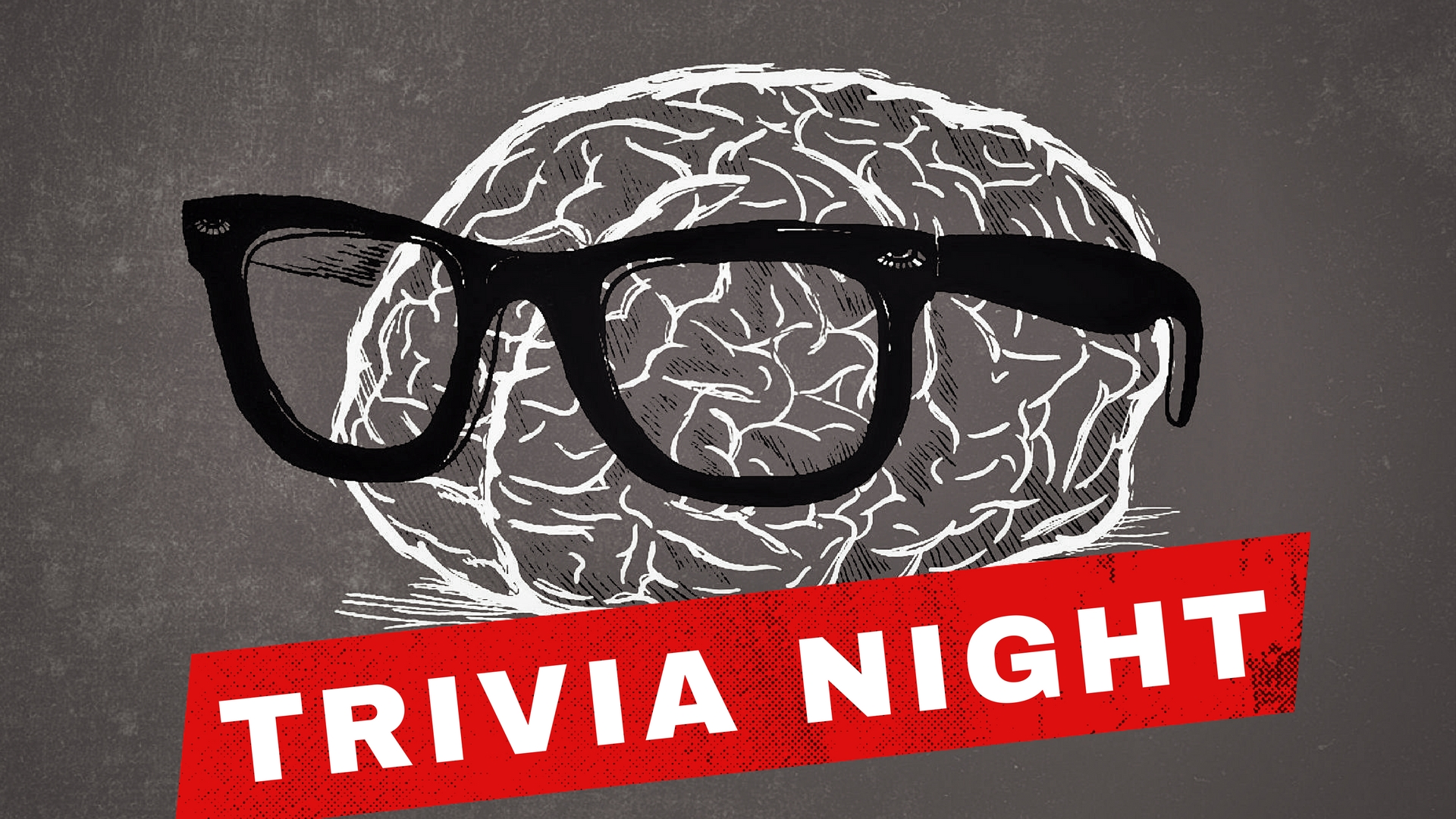 the brain with glasses on